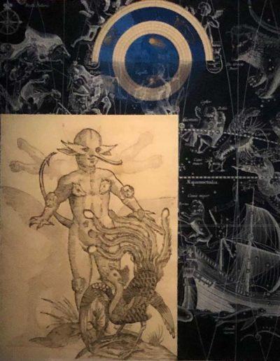 ST, Serie Celestials, 2018<br/>Lino bordado