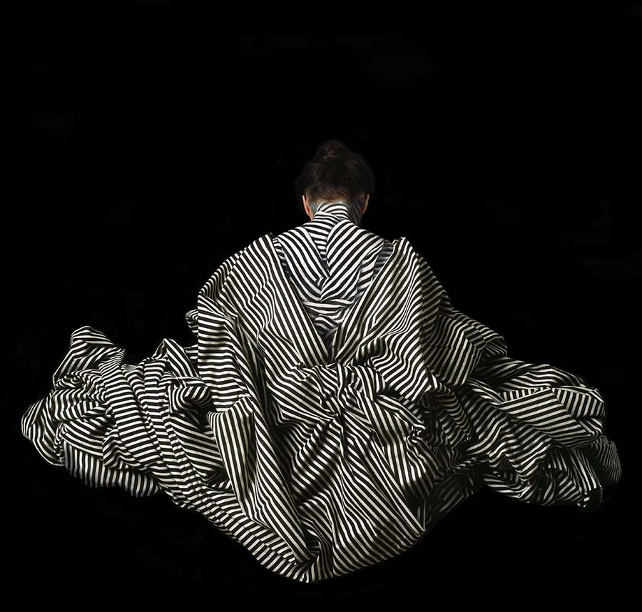 Cecilia Paredes. La Dorsal, 2014<br/>Impresión de tintas de pigmentos / Inkjet print