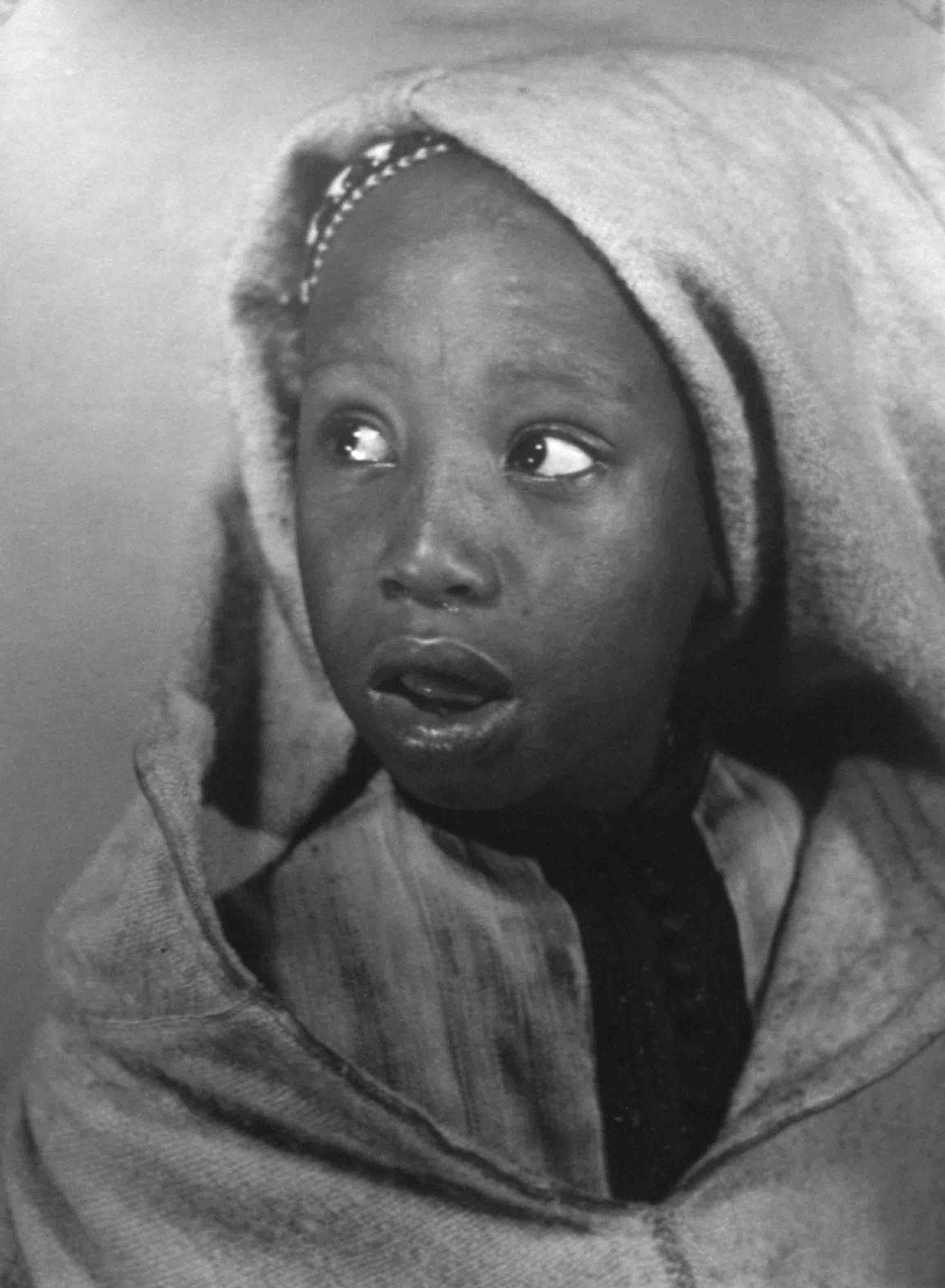 Mocoso marroquí. Marruecos, 1942<br/>Gelatina de plata / Silver gelatin print