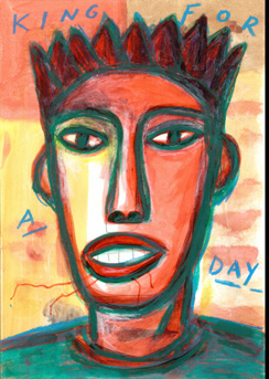King for a day, 2017<br/>Tintas sublimadas Fine Arte sobre aluminio / Sublimated Fine Art on aluminium