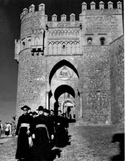 Toledo: Puerta del Sol c.a. 1950<br/>Gelatina de plata / Silver gelatin print
