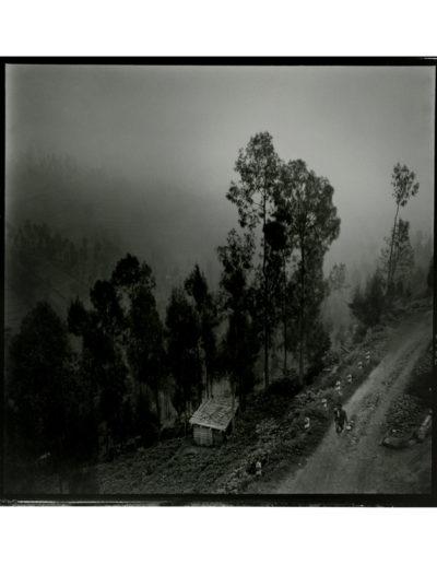 Indonesia, niebla, 2009<br/>Gelatinoclorobromuro de plata / Silver gelatin print