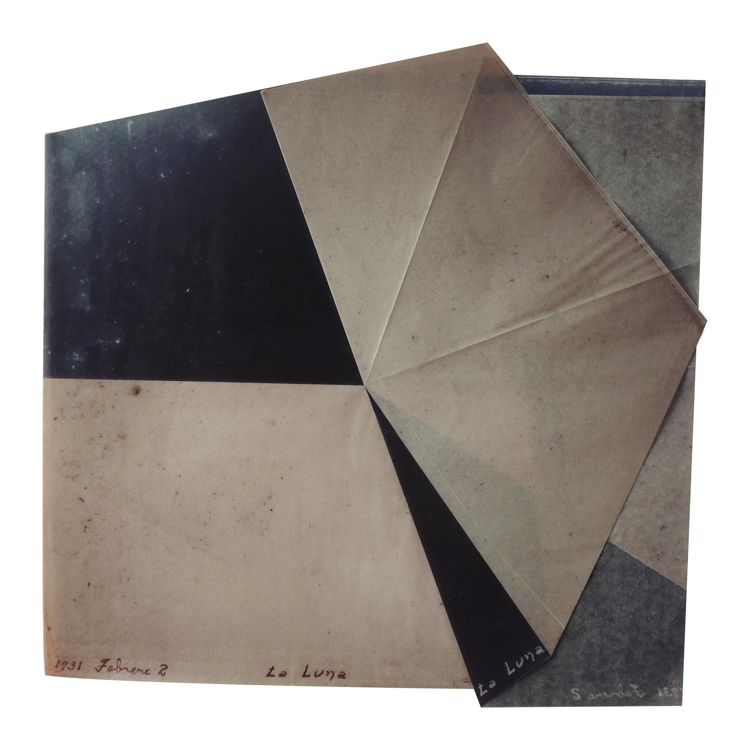 La Luna 2, 2016<br/>Impresión digital sobre papel cebolla / Inkjet print on onion paper