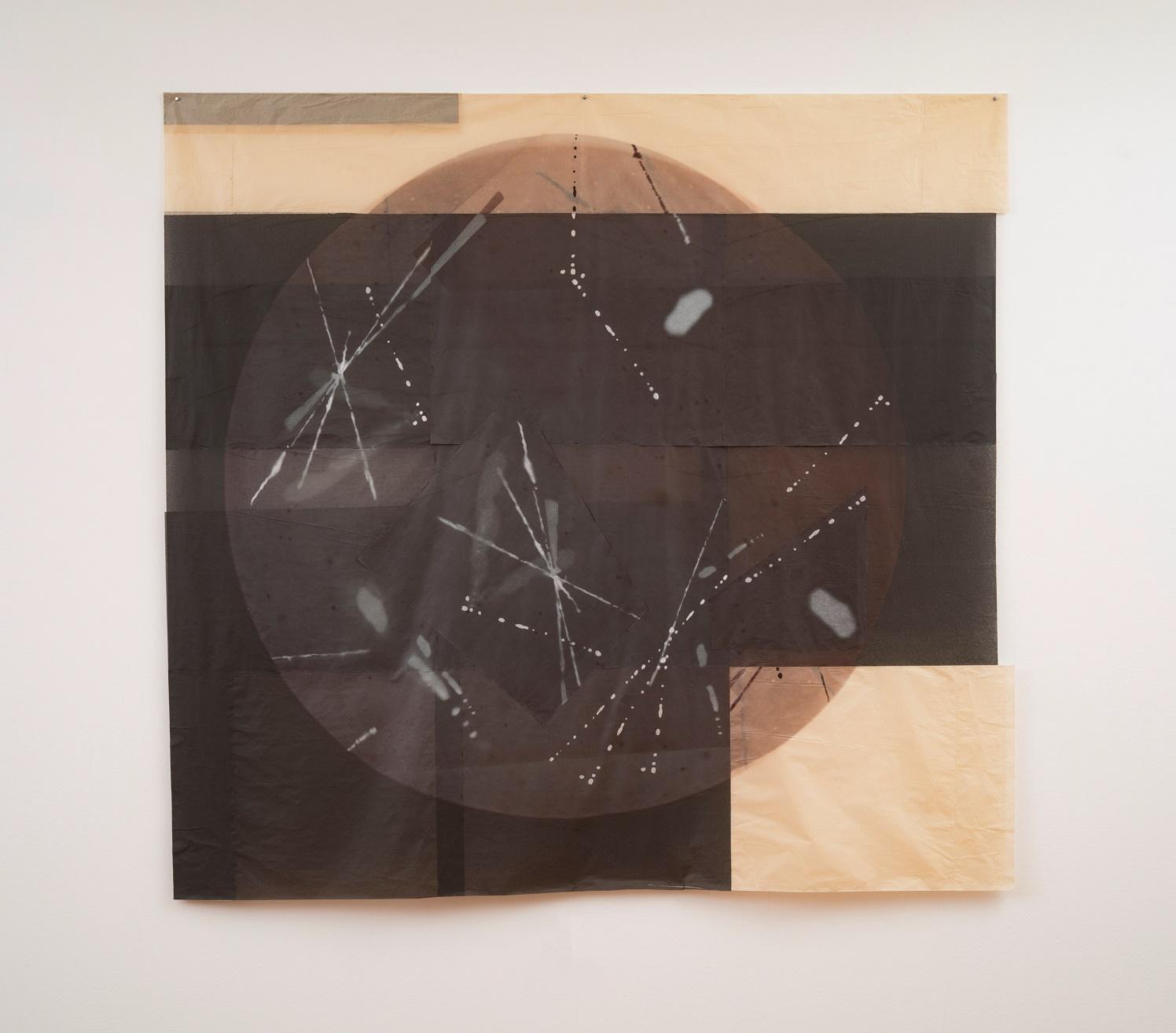 Partículas Cósmicas, 2016<br/>Impresión digital sobre papel cebolla / Inkjet print on onion paper