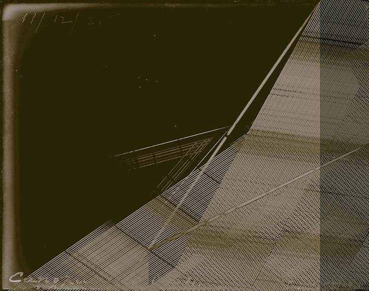 Rayo Cósmico 5, 2016<br/>Impresión digital sobre papel cebolla / Inkjet print on onion paper