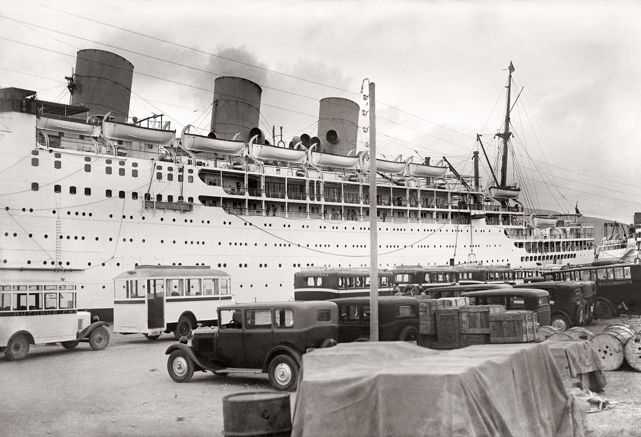 Puerto de Ceuta, 1928<br/>Gelatina de plata / Silver gelatin