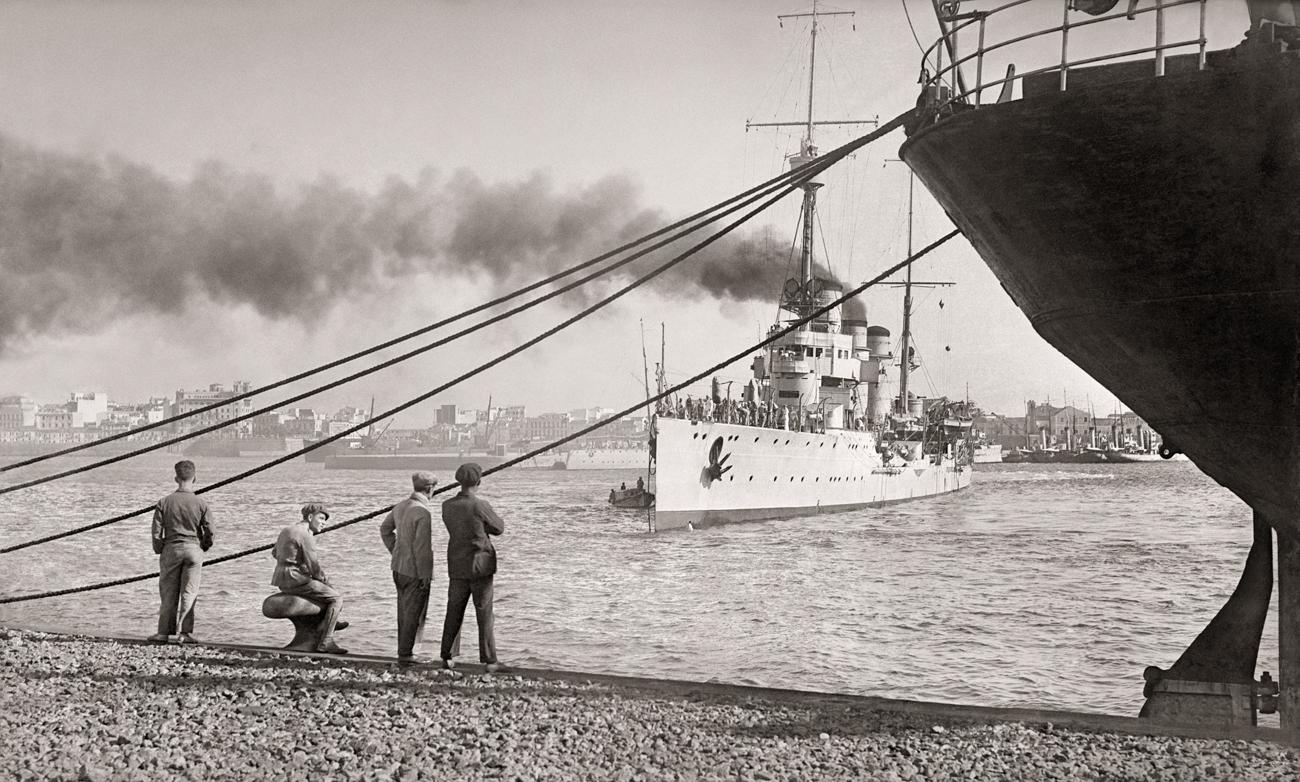 Puerto de Ceuta, 1929<br/>Gelatina de plata / Silver gelatin