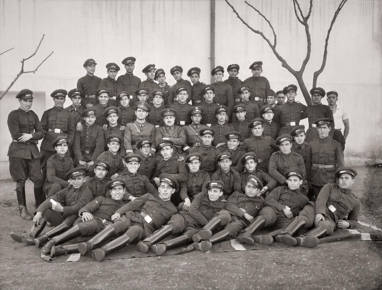 Regimiento de Infantería de Ceuta, 1924<br/>Gelatina de plata / Silver gelatin