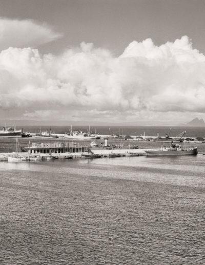Gibraltar desde el Puerto de Ceuta, 1928<br/>Gelatina de plata / Silver gelatin