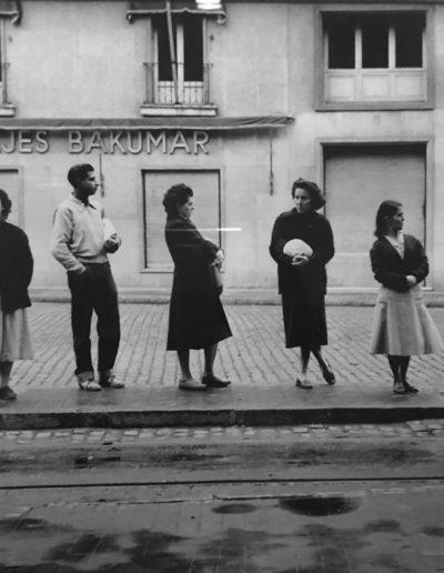 Las Ramblas, Barcelona, ca. 1959-1965<br/>Gelatina de clorobromuro de plata con tratamiento de archivo al selenio / Silver gelatine with archival selenium treatment