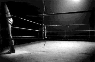 Neutral corner Madrid, 1962<br/>28 x 40 cm