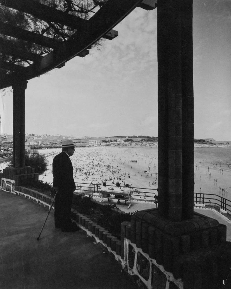 Santander. Jardines de Piquío, 1964<br/>Gelatina de clorobromuro de plata con tratamiento de archivo al selenio / Silver gelatine with archival selenium treatment