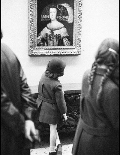 Museo del Prado, Madrid, 1963<br/>Gelatina de clorobromuro de plata con tratamiento de archivo al selenio / Silver gelatine with archival selenium treatment
