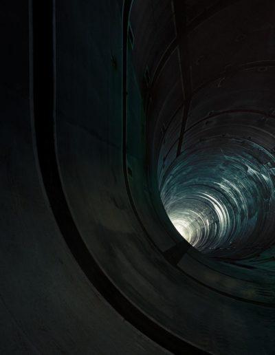 Deep Tunnel - Chicago, IL 2016<br/>Impresión digital sobre papel Kodak Endura