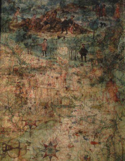ST, Serie Celestials, 2019<br/>Impresión de tintas de pigmentos. 26,5 x 20,5 cm