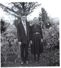 Nai e fillo, 1959<br/>Gelatina bromuro de plata virado al selenio sobre papel baritado / Silver gelatin on baryta paper