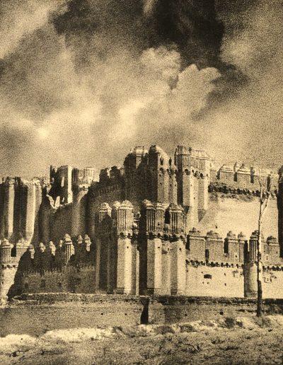 Castillo de Coca, 1956<br/>Carbón directo / Direct charcoal
