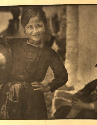 En Guisando<br/>Carbón directo (Fresson) realizado por José Ortiz-Echagüe
