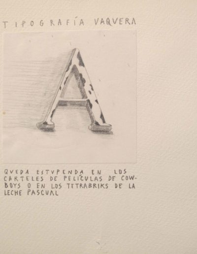 13<br/>Lápiz sobre papel, 20 x 25 cm