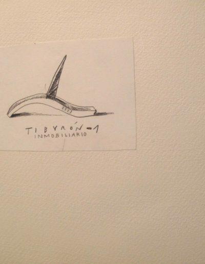 20<br/>Lápiz sobre papel, 20 x 25 cm