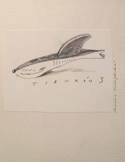 23<br/>Lápiz sobre papel, 20 x 25 cm