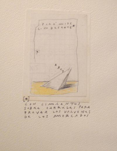 24<br/>Lápiz sobre papel, 20 x 25 cm