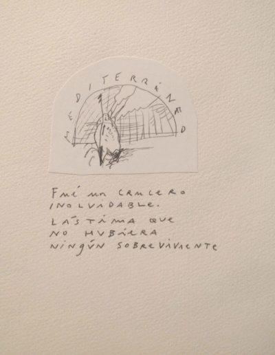 26<br/>Lápiz sobre papel, 20 x 25 cm