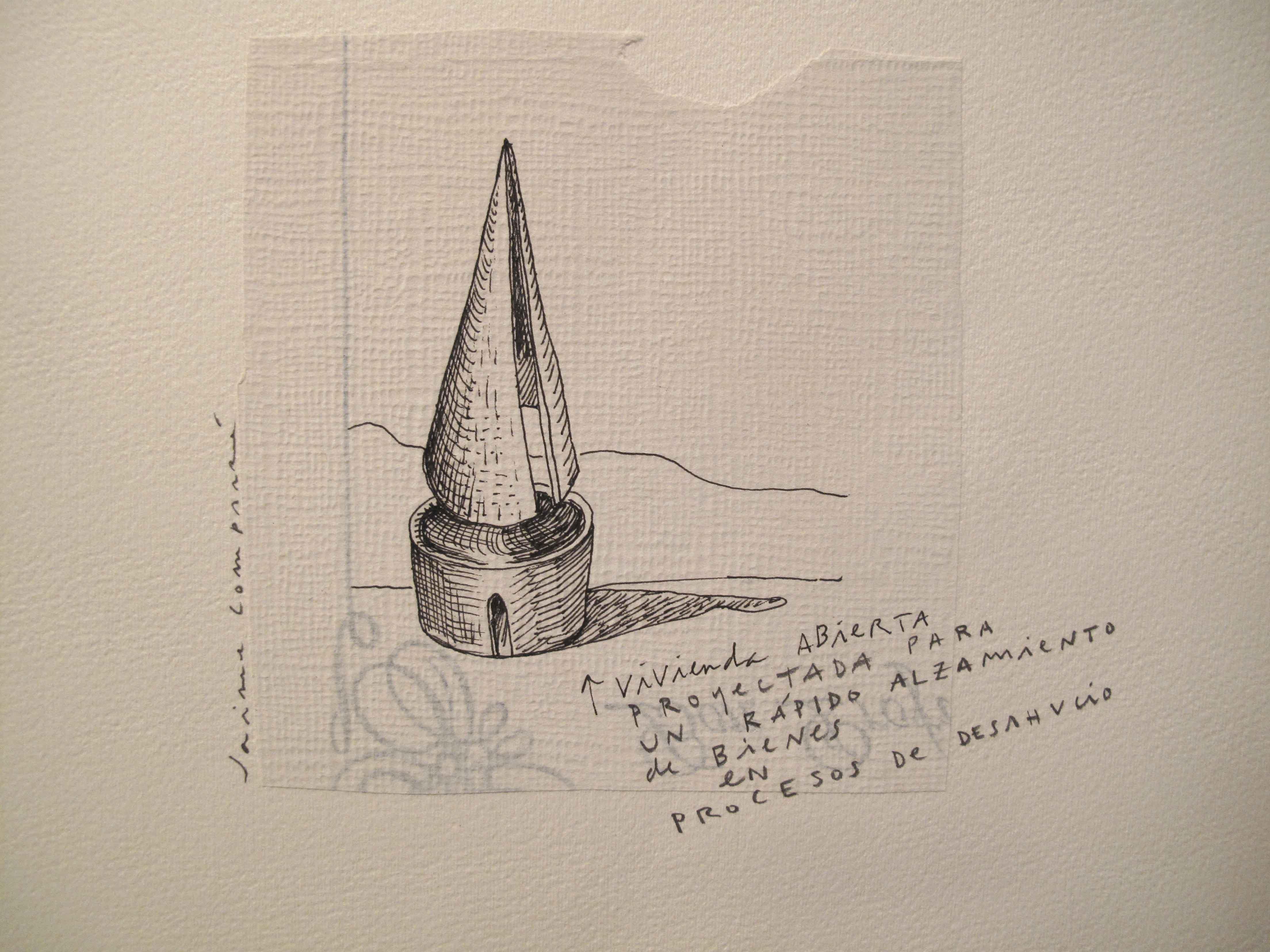 28<br/>Lápiz sobre papel, 20 x 25 cm