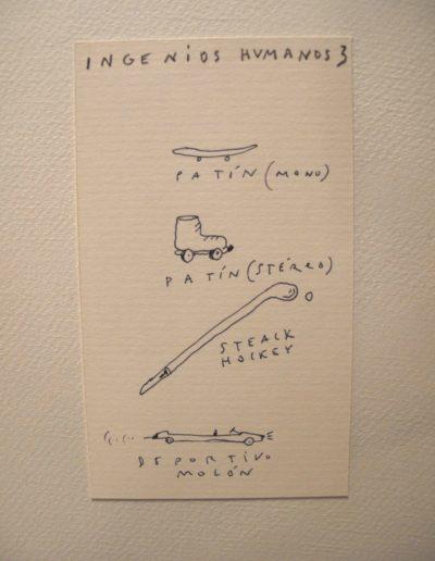 38<br/>Lápiz sobre papel, 20 x 25 cm