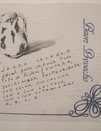 40<br/>Lápiz sobre papel, 20 x 25 cm