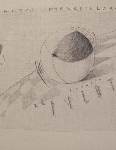 5<br/>Lápiz sobre papel, 20 x 25 cm