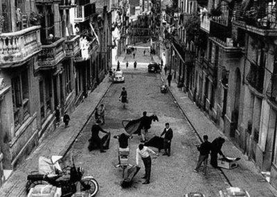Oriol Maspons. Calle Potea Cabañas2, 1954<br/>Gelatina de plata / Silver gelatin
