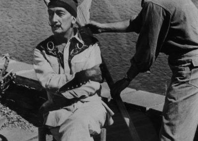 Oriol Maspons. Dalí<br/>Gelatina de plata / Silver gelatin