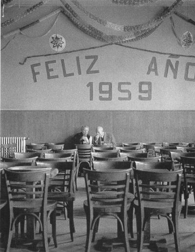 Gabriel Cualladó. Feliz año. Madrid, 1959. (x3 50x60cm.)<br/>Gelatina de plata