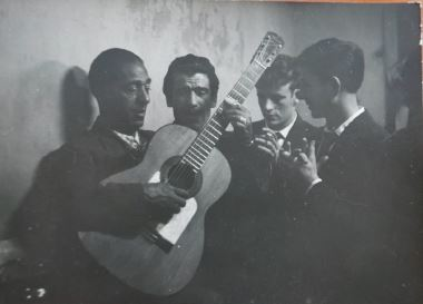 Ricard Terré. Flamenco,1956<br/>Gelatina de plata