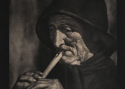 Ortiz Echagüe. Viejo chistulari 1935<br/>Gelatina de plata