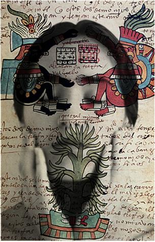 Tatiana Parcero. Cartografía interior #35, 1995<br/>Impresión de lambda y metacrilato
