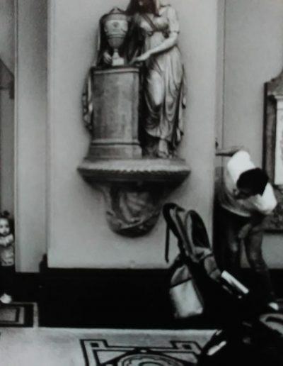 Ma Casanova. Museo de Londres. Niña con padre, 2018<br/>Gelatina de plata / Silver gelatin