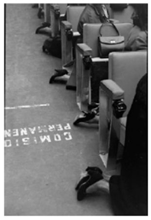 Misa madres de la división azul, Madrid, 1957<br/>Gelatina al clorobromuro de plata con tratamiento de archivo al selenio / Silver gelatine with archival selenium treatment