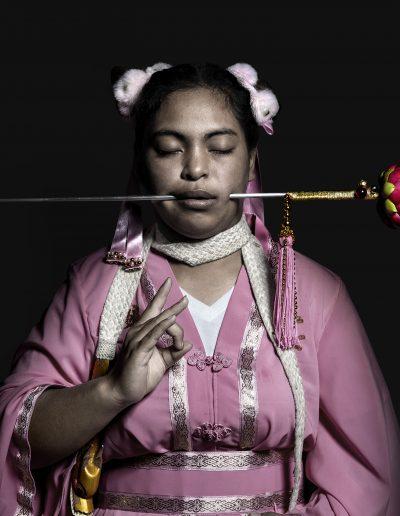 Isabel Muñoz. S/T. Serie 9 Gods, 2017<br/>Platinotipia / Platinum