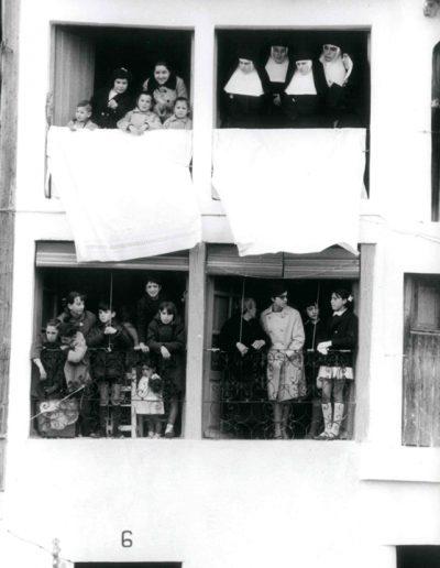 Francisco Ontañón. Bajada del Ángel. Peñafiel, 1963<br/>Gelatina de plata sobre papel baritado / Gelatin silver on baryta paper
