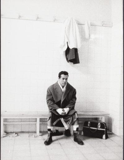 Francisco Ontañón. El boxeador Fred Galiana. Madrid, 1961<br/>Gelatina de plata sobre papel baritado / Gelatin silver on baryta paper