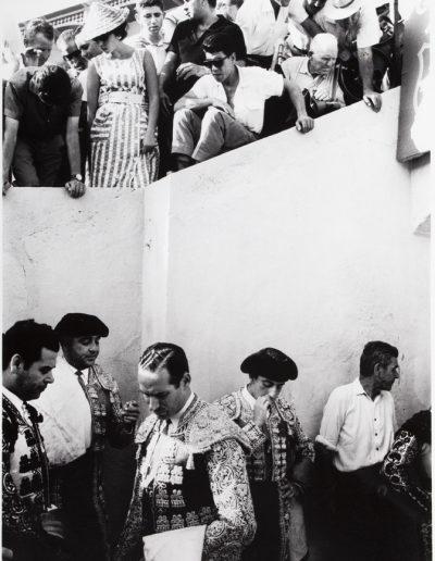 Francisco Ontañón. El callejón de las Ventas. Madrid, 1962<br/>Gelatina de plata sobre papel baritado / Gelatin silver on baryta paper