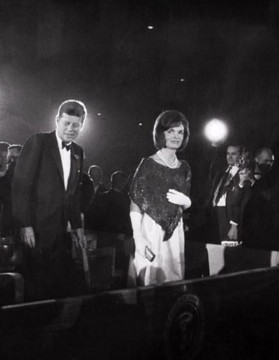 Francisco Ontañón. John y Jacqueline Kennedy. Washington, 1963<br/>Gelatina de plata sobre papel baritado / Gelatin silver on baryta paper