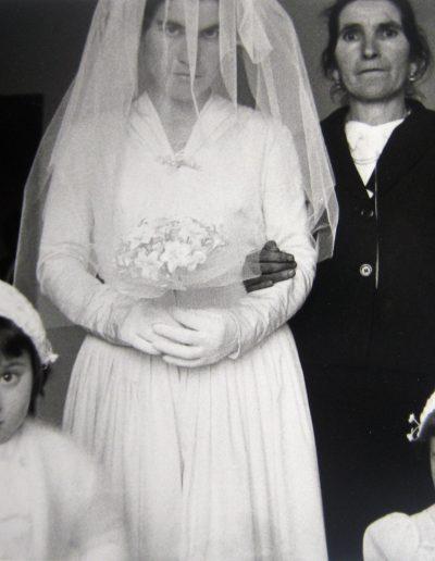 Francisco Ontañón. La boda. Salamanca, 1959<br/>Gelatina de plata sobre papel baritado / Gelatin silver on baryta paper