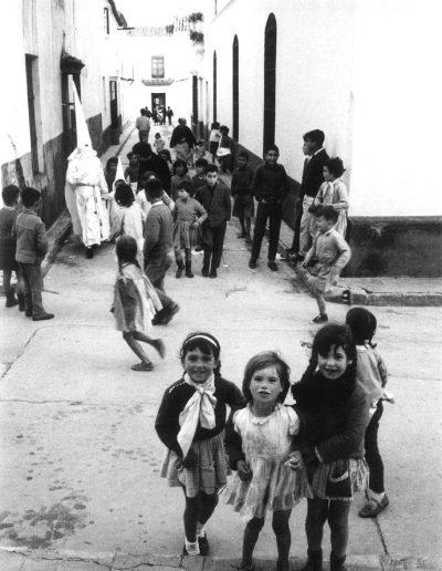 Francisco Ontañón. Semana Santa, Andalucía. 1962 - 1963<br/>Gelatina de plata sobre papel baritado / Gelatin silver on baryta paper